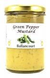 Green Pepper Mustard from Ballancourt, French Mustard supplier