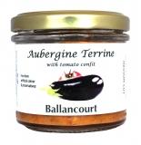 Aubergine Terrine from Ballancourt, French Terrines