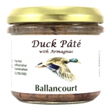 Duck Pate with Armagnac from Ballancourt, French Pate Suppliers