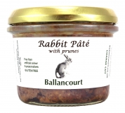 Rabbit Pate with Prunes from Ballancourt, French Pate Suppliers