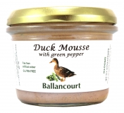Duck Mousse Pate from Ballancourt, French Pate Suppliers