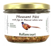 Pheasant Pate with Figs from Ballancourt, French Pate Suppliers