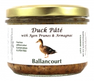 Duck Pate with Prunes and Armagnac from Ballancourt, French Pate Suppliers