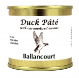 Duck Pate with Onions from Ballancourt, French Pate Suppliers