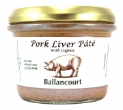 Pork Liver Pate with Cognac from Ballancourt, French Pate Suppliers