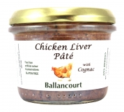 Chicken Liver Pate with Cognac from Ballancourt, French Pate Suppliers