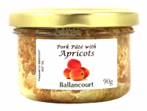 Pork Pate with Apricots from Ballancourt, French Pate Suppliers