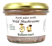 Pork Pate with Wild Mushrooms from Ballancourt, French Pate Suppliers