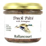 Duck Coarse Pate with Armagnac from Ballancourt, French Pate Suppliers