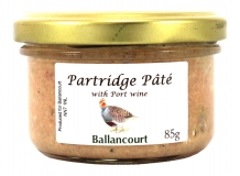 Partridge Pate from Ballancourt, French Pate Suppliers